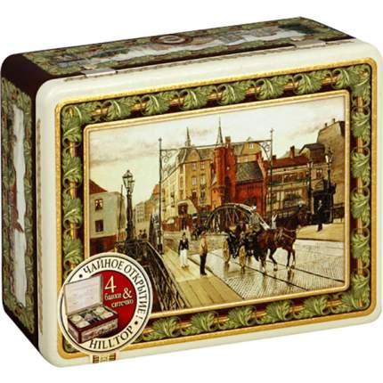 Подарочный набор чай Hilltop английская чайная шкатулка 200 г