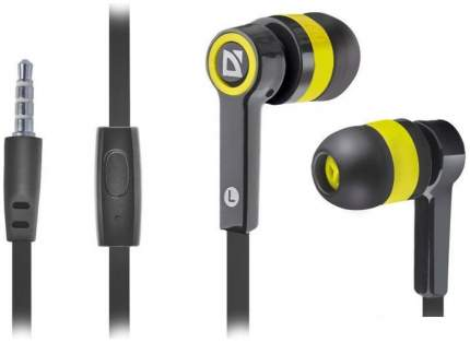 Наушники Defender Pulse 420 Yellow/Black