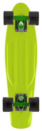 "Скейтборд Y-Scoo Fishskateboard 22"" 401-L с сумкой Lime Black"
