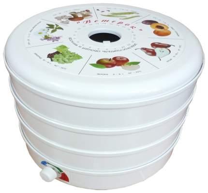 Сушилка для овощей и фруктов Спектр-Прибор Ветерок-3 white