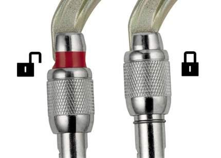 Карабин Petzl Oxan Screw-Lock серый
