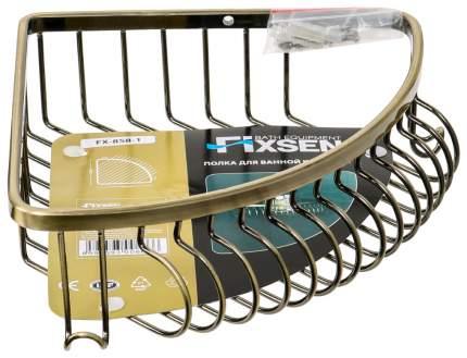 Полка для ванной Fixsen FX-858-1 Античная латунь
