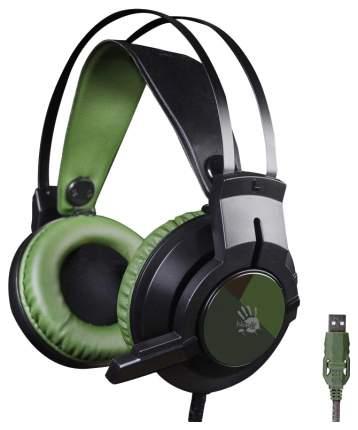 Игровые наушники A4Tech Bloody J450 Army Green