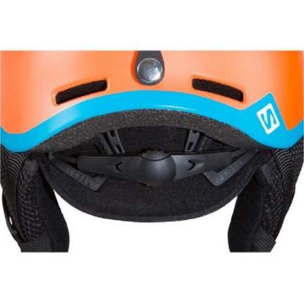 Горнолыжный шлем Salomon Grom Fluo 2019 orange/blue, XS