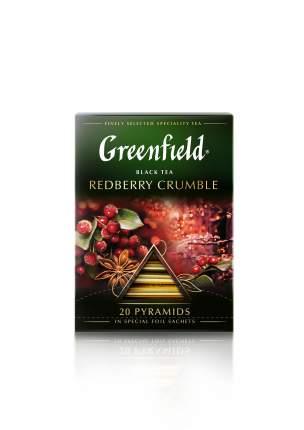 Чай черный Greenfield в пирамидках redberry crumble 20 пакетиков
