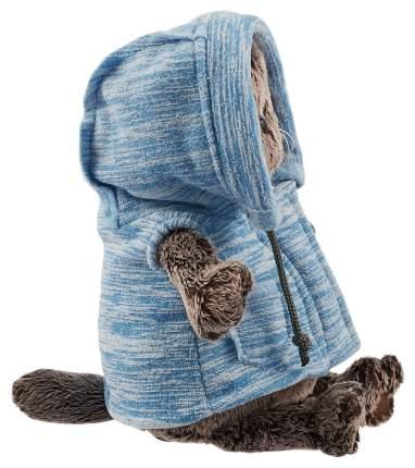 Мягкая игрушка «Басик» в голубом жилете, 25 см Басик и Ко