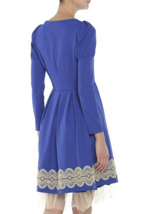 Платье женское MY PIENTI 2141 синее 38 IT