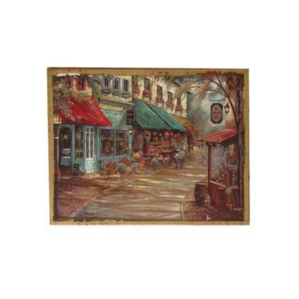 Настенное панно Уличные зарисовки N1, 35x45cm