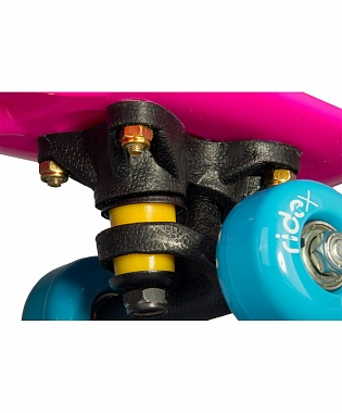 Круизер пластиковый Ridex Princess, 17''x5'', Abec-7 Carbon
