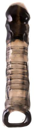 Насадка ToyFa XLover с петлей для мошонки черный 22,5 см