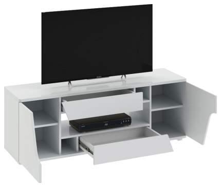 Тумба под телевизор приставная Трия Diamond тип 5 TRI_105007 140x39,5x50 см, белый