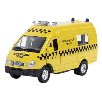 ГАЗ Технопарк инерционный, металлическийель маршрутное такси со светом и звуком