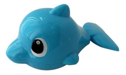 Буль-буль, зав. игр. для ванной, дельфин, 13 см