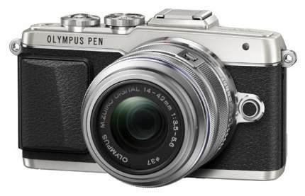 Фотоаппарат системный Olympus Pen E-PL7 Kit Silver