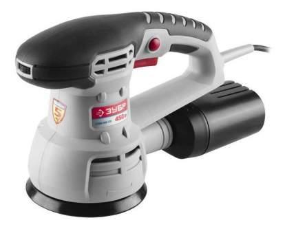Сетевая эксцентриковая шлифовальная машина Зубр ЗОШМ-450-125
