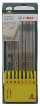 Набор пилок для лобзика Bosch 2607019458