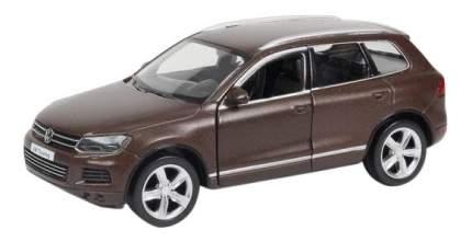 Машина металлическая Uni-Fortune 1:32 Volkswagen Touareg инерционная коричневый матовый
