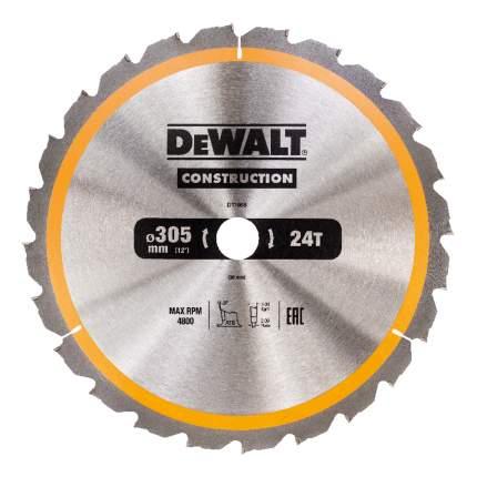 Диск по дереву для дисковых пил DeWALT DT1958-QZ