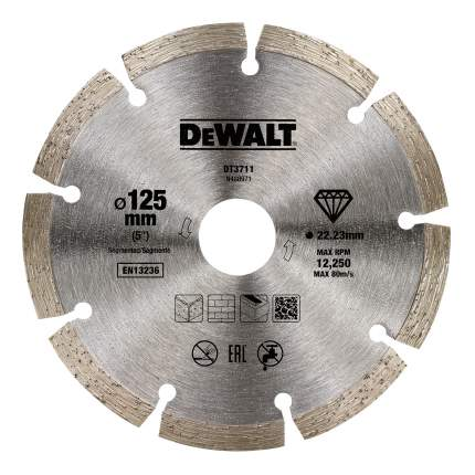 Диск отрезной алмазный универсальный DeWALT DT3711-QZ