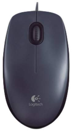 Проводная мышка Logitech M100 Black (910-005003)