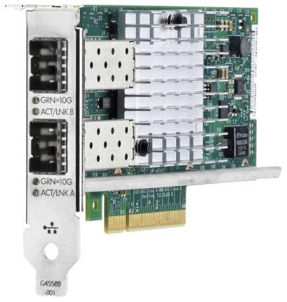Сетевая карта HP Ethernet 10Gb 2-port 562SFP+ Adapter