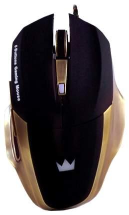 Мышь Crown Gaming CMXG-604 черный золотистый USB