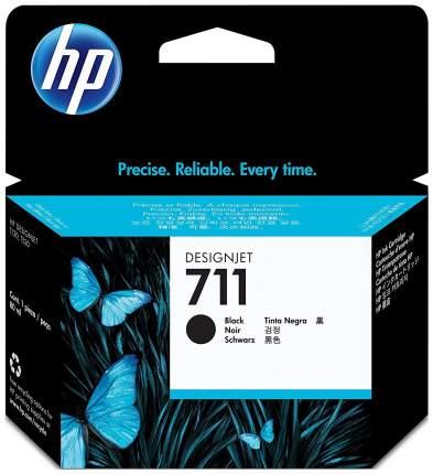 Картридж для струйного принтера HP 711 (CZ133A) черный, оригинал