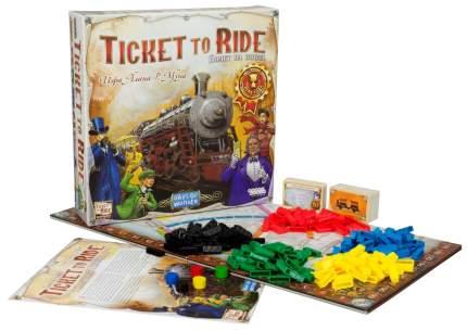 Настольные ролевые игры Hobby World Билет на поезд Америка 54060