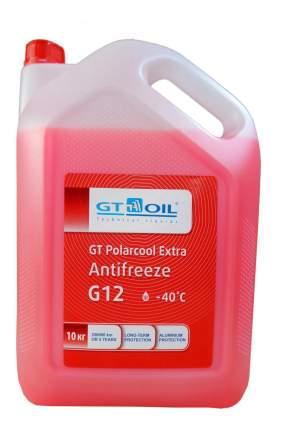 Антифриз GT OIL POLARCOOL EXTRA G12 красный 10кг