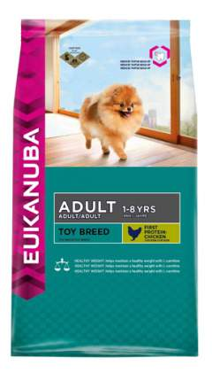 Корм для щенков Eukanuba ADULT TOY Breed, 1,5кг