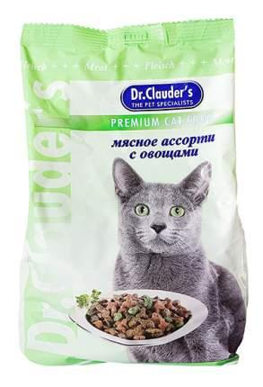 Сухой корм для кошек Dr.Clauder's Premium Cat Food, мясное ассорти с овощами, 15кг