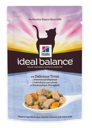 Влажный корм для кошек Hill's Ideal Balance, рыба, 12шт, 85г