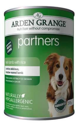 Консервы для собак ARDEN GRANGE, ягненок, рис, 395г