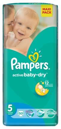Подгузники Pampers Active Baby-Dry Junior 5 (11-18 кг), 50 шт.