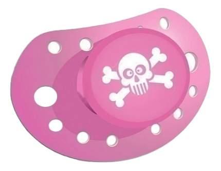 Силиконовая пустышка ортодонтическая Elodie Details Crosseyed Jolly Pink