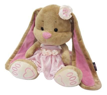 Мягкая игрушка Jack&Lin Зайка Лин в Розовом Платье, 25 см