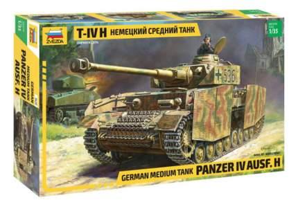 Модель для сборки Zvezda 1:35 Немецкий средний танк T-IV H