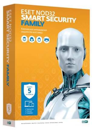Антивирус ESET NOD32 Smart Security Family на 5 устройств 12 мес.