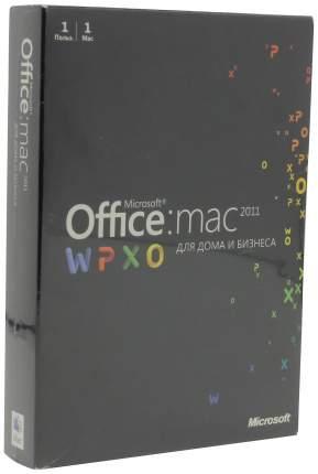 Офисная программа Microsoft Office Home and Business для Mac 2011