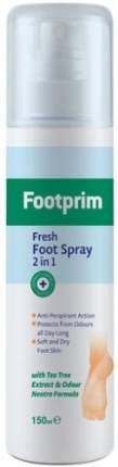 Дезодорант-антиперспирант для ног 2 в 1 FOOTPRIM 150 мл