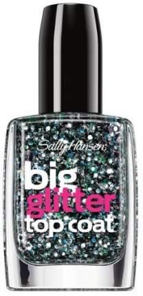 Верхнее покрытие для создания мерцающего эффекта SALLY HANSEN Big Glitter top coat,тон 130