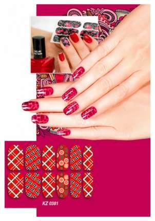Арт-пленка для дизайна ногтей «ШОТЛАНДКА»