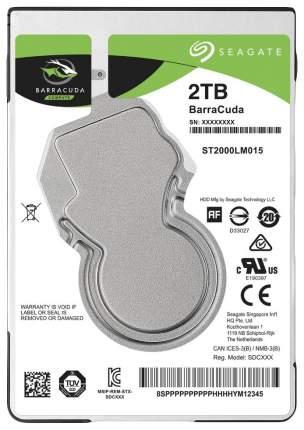Внутренний жесткий диск Seagate BarraCuda 2TB (ST2000LM015)