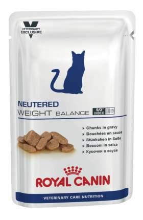 Влажный корм для кошек ROYAL CANIN Neutered Weight Balance, свинина, птица, 100г