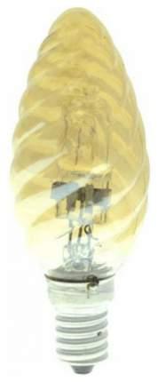 Лампа галогенная (04115) E14 42W свеча витая золотая HCL-42/CL/E14 candle twisted gold