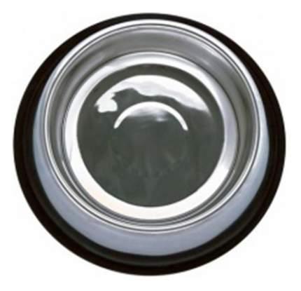 Одинарная миска для кошек и собак Papillon, сталь, серебристый, 2.8 л