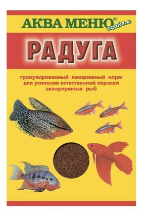 Корм для рыб Aquamenu, гранулы, 25 г, 1 шт