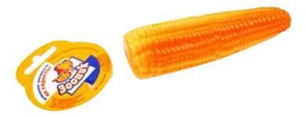 Жевательная игрушка для собак Зооник Кукуруза, желтый, 18 см