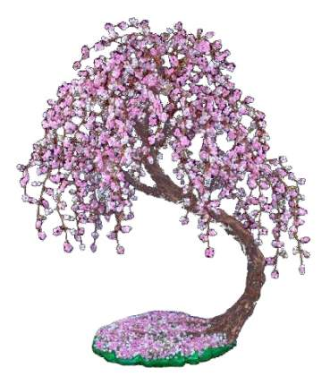Поделка Danko Toys Бисерное дерево. Сакура