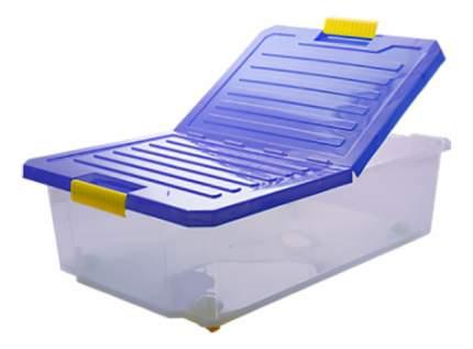 Ящик для хранения игрушек Plastic Republic Unibox 30 л синий
